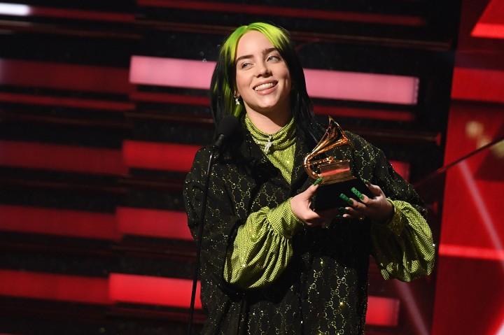 Billie Ellish Cetak Rekor di Grammy Awards 2020