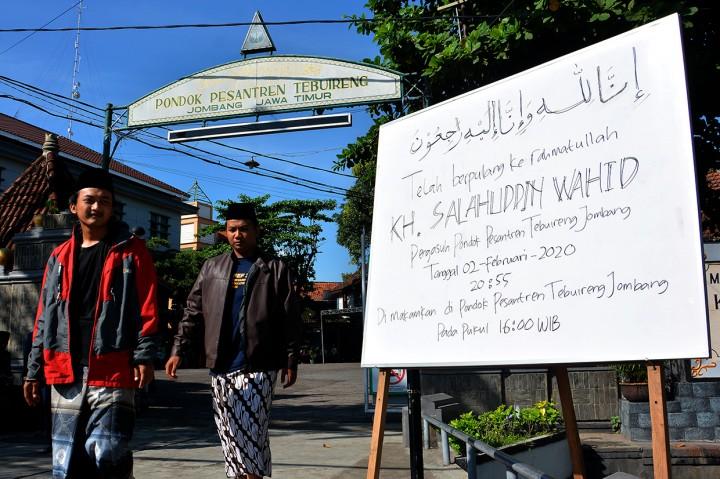 Ponpes Tebuireng Jombang Persiapkan Pemakaman Gus Sholah