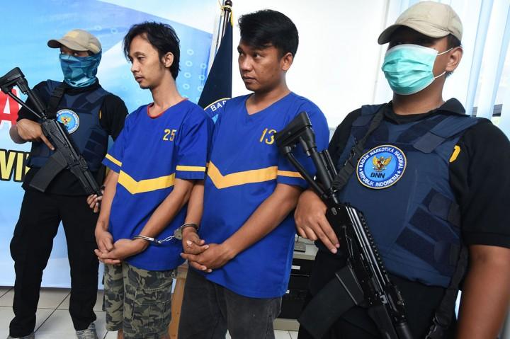 BNNP Banten Sita 100 Kg Ganja, Ringkus 5 Tersangka