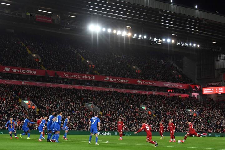 Liverpool U-23 Tundukkan Shrewsbury Town 1-0