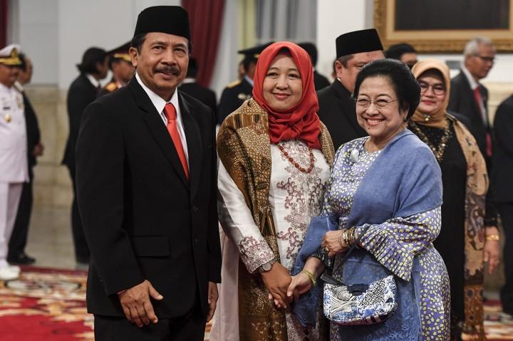 Jokowi Lantik Kepala BPIP dan Kepala BPKP