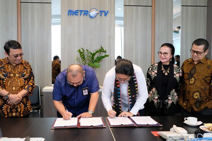 Media Group Teken MoU dengan PFN