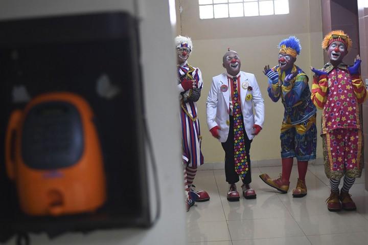 Aku Badut Indonesia Hibur Anak-anak Penderita Kanker