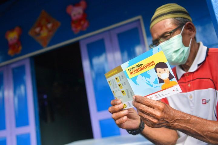 PMI Sosialisasi Pencegahan Virus Korona di Natuna