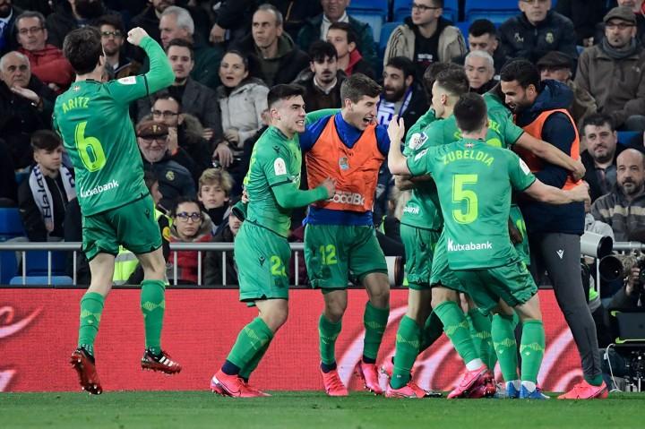 Real Madrid Terdepak dari Copa del Rey