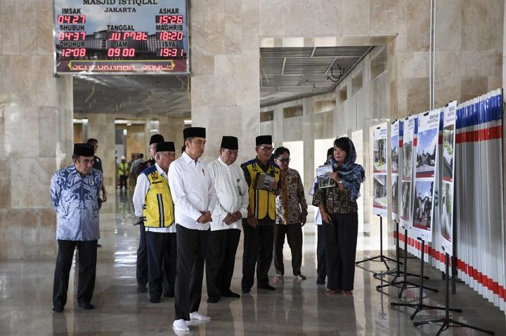 Jokowi Akan Bangun Terowongan Silaturahmi Istiqlal-Katedral