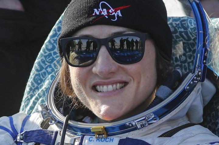 Christina Koch Pecahkan Rekor Astronaut Perempuan Terlama di