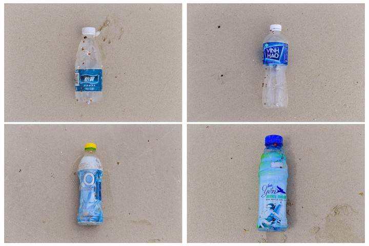 Sampah Plastik Asing Kotori Pesisir Pantai Natuna