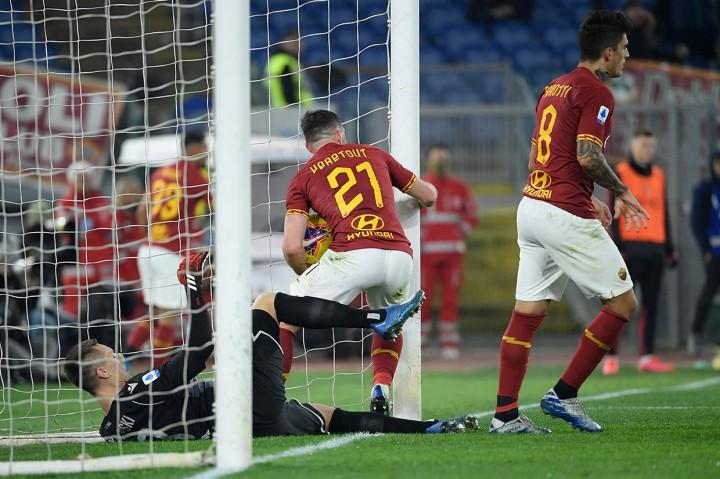 Bologna Tekuk AS Roma di Stadion Olimpico