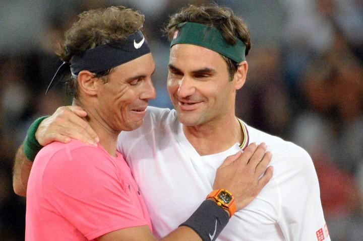 Laga Federer vs Nadal Pecahkan Rekor Penonton