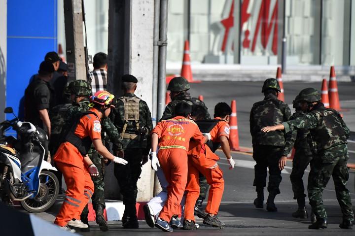 Tentara Thailand Tembaki Pengunjung Mal, 20 Orang Tewas