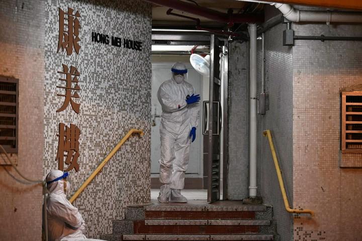 Ditemukan Pasien Korona di Apartemen Hong Kong, Penghuni
