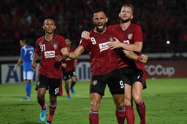 Bali United Bungkam Than Quang 4-1