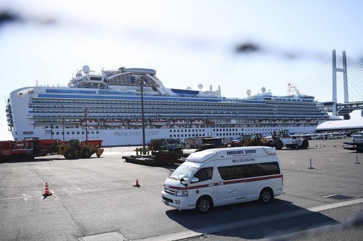 Korban Terinfeksi Korona di Kapal Pesiar Jepang Terus Bertambah