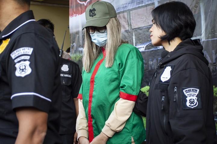 Lucinta Luna Ditahan di Sel Khusus Polda Metro Jaya