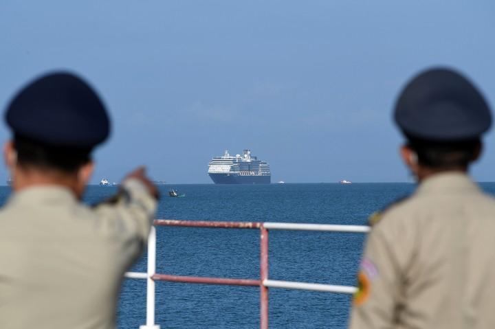 Ditolak 5 Negara, Kapal Pesiar Westerdam Berlabuh di Kamboja