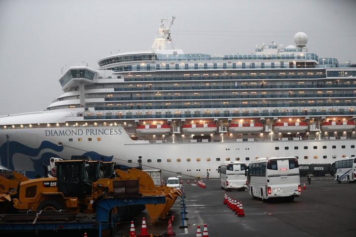 355 Penumpang Kapal Pesiar Diamond Princess Positif Korona