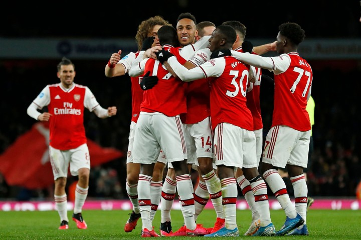 Arsenal Gilas Newcastle United 4-0