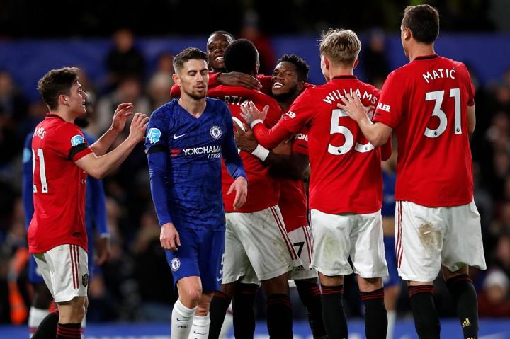 Dua Gol Dianulir, Chelsea Takluk 0-2 dari Man United