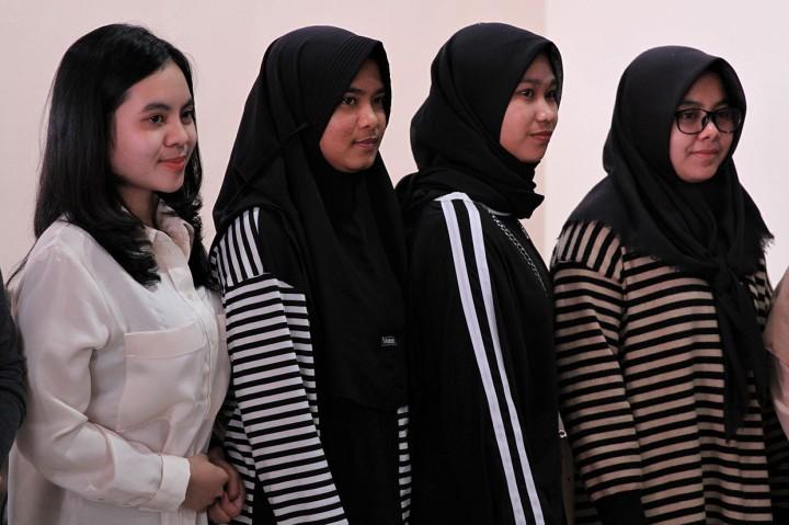 Empat Mahasiswi dari Natuna Tiba di Kendari
