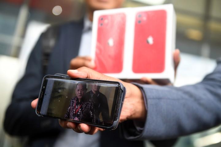 Ini Iphone 11 bagi Informan Keberadaan Nurhadi