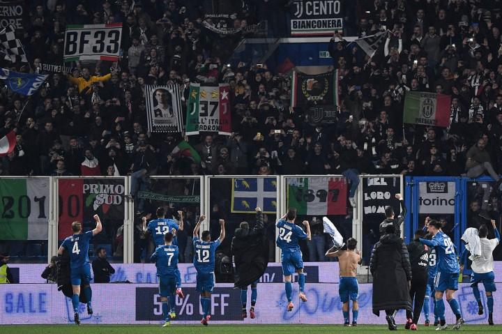 Juventus Kalahkan SPAL 2-1 pada Laga ke-1000 Ronaldo