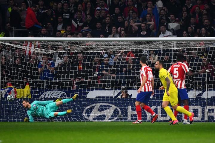 Atletico Madrid Bungkam Villarreal 3-1