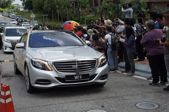 90 Anggota Parlemen Bertemu Raja Malaysia