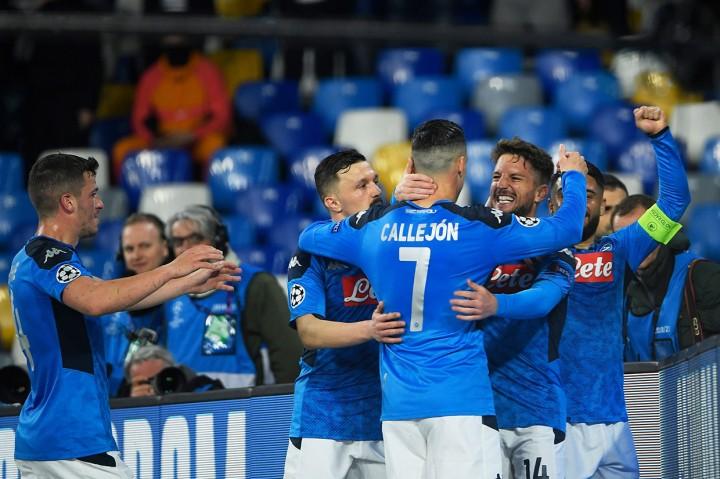 Napoli vs Barcelona Berakhir Imbang 1-1