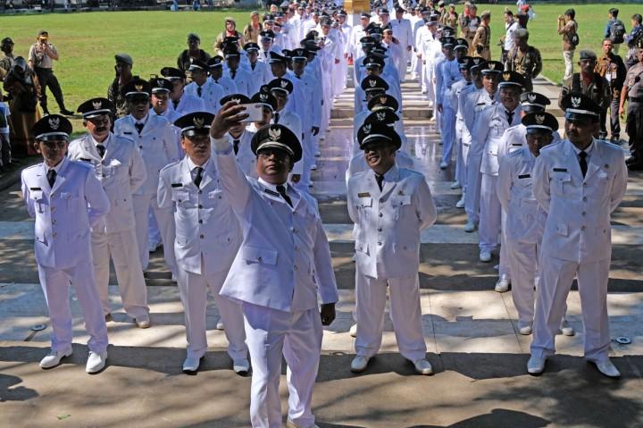 215 Kades Terpilih se-Kabupaten Temanggung Dilantik Massal