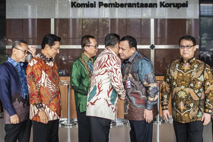 Pimpinan MPR Sambangi KPK