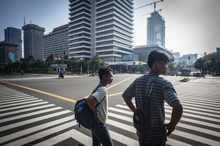 CFD Jakarta Ditiadakan Selama Dua Pekan