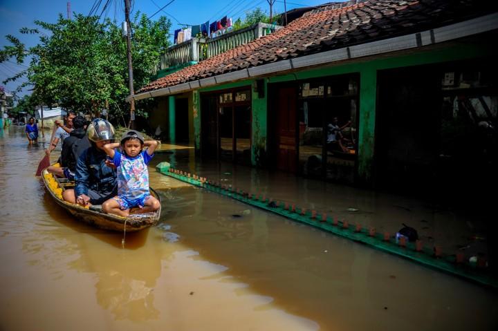 Banjir Rendam Dayeuhkolot Bandung