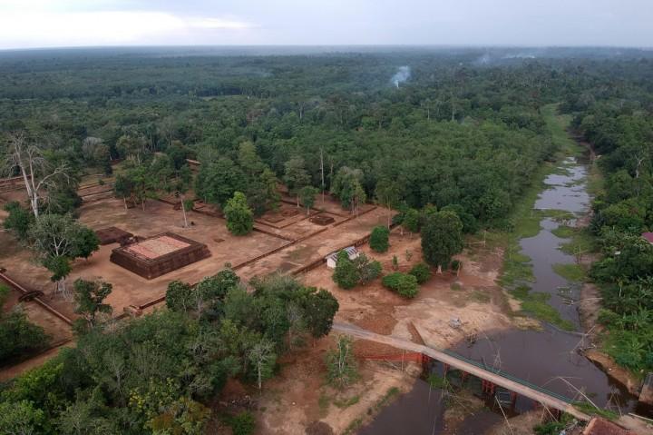 Kawasan Percandian Muaro Jambi Ditutup Sementara