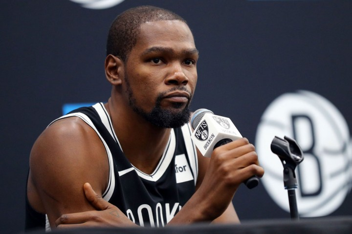 Kevin Durant Positif Covid-19