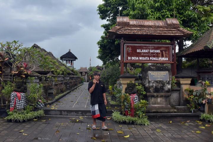 Cegah Korona, Desa Wisata Penglipuran Ditutup Sementara