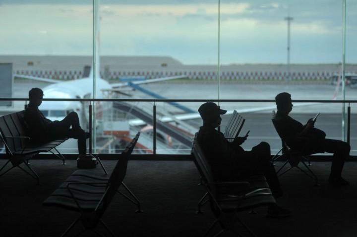 Antisipasi Korona, Bandara Ngurah Rai Terapkan <i>Social