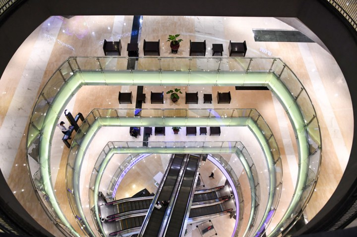Pusat Perbelanjaan di Jakarta Sepi