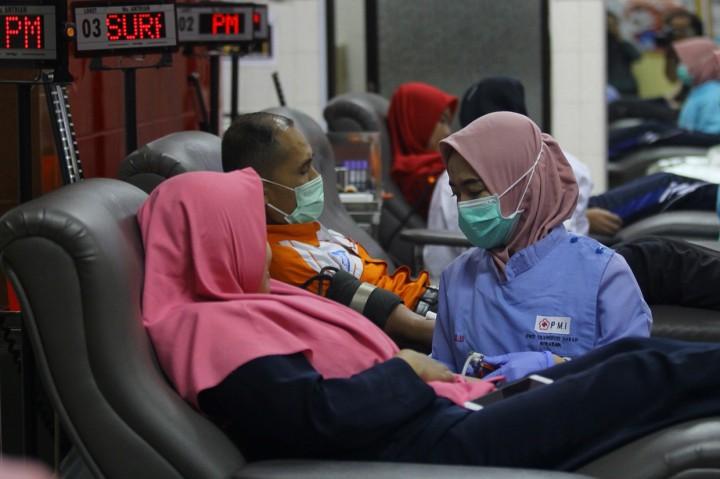 Imbas Korona, PMI Surabaya Kekurangan Stok Darah 60 Persen