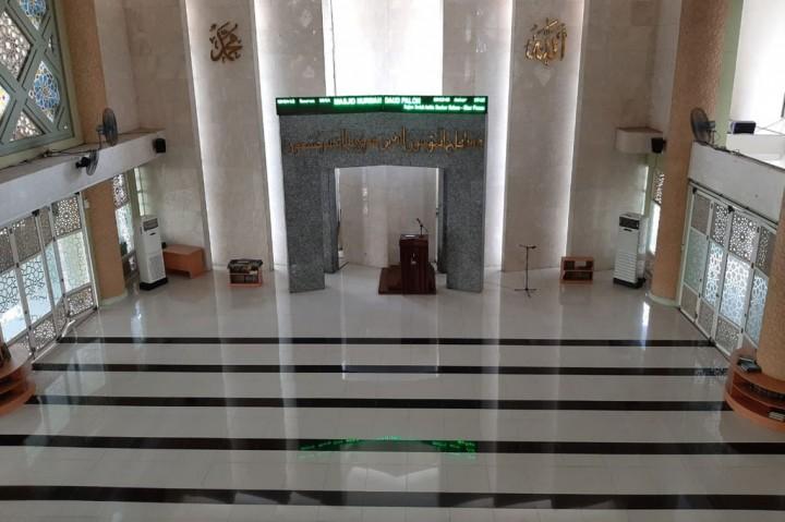 Antisipasi Korona, Masjid Nursiah Daud Paloh Ditutup Sementara