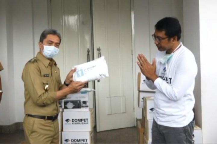 Yayasan Media Group Serahkan Donasi APD ke Pemkot Bogor