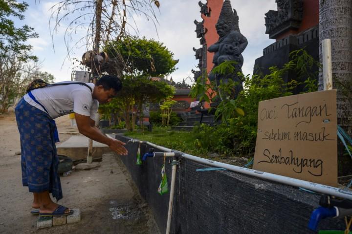 Ritual Sembahyang Bersama Nyepi di Palu Ditiadakan