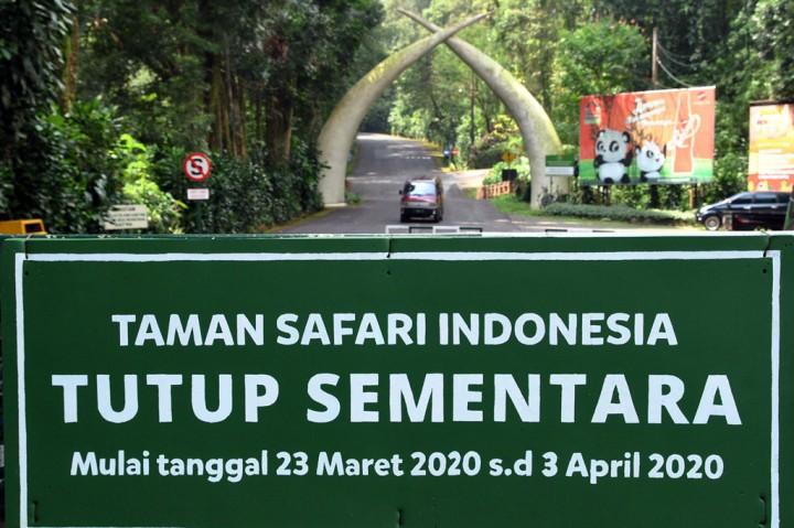 Taman Safari Group Indonesia Tutup Hingga 3 April