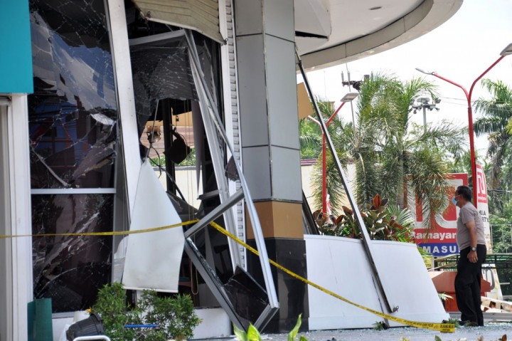 Ledakan di Plaza Ramayana Medan Lukai 2 Orang