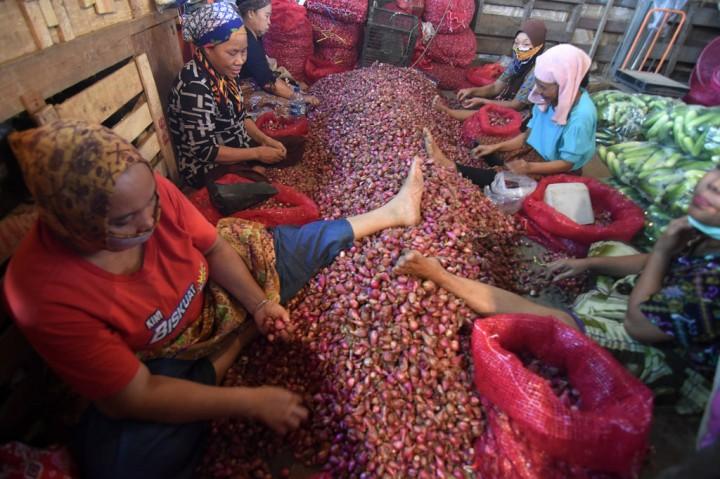 Aktivitas Pasar Induk tak Terpengaruh Korona