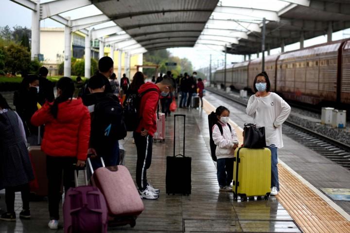 KA di Hubei Mulai Layani Penumpang