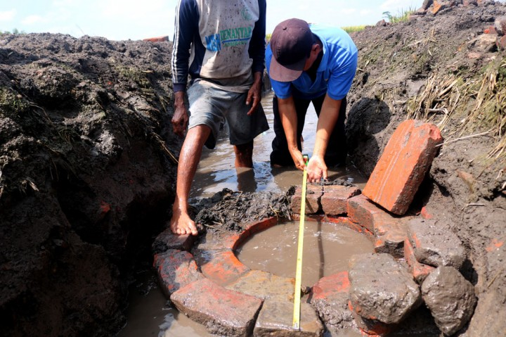 Sumur Tua Peninggalan Majapahit Ditemukan di Jombang