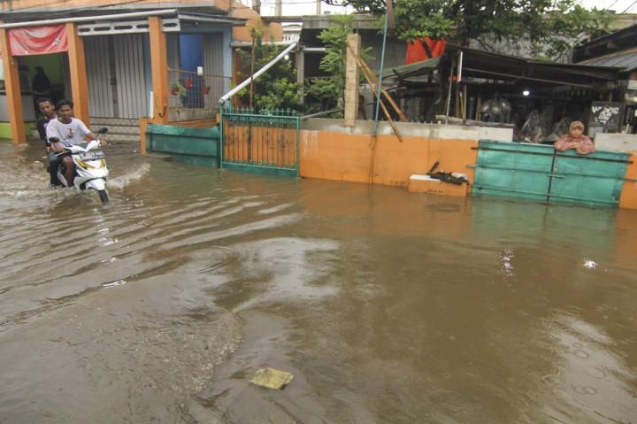 Citayam Depok Terendam Banjir
