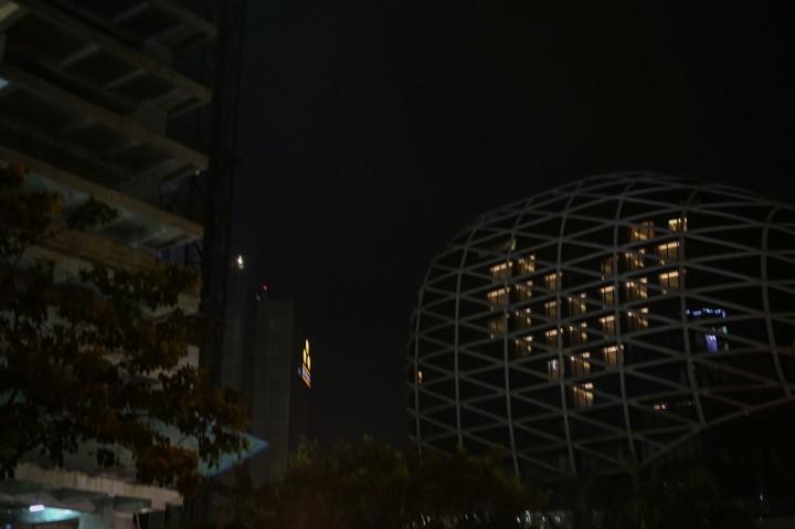 Dukung Tenaga Medis, Hotel di Tangerang Nyalakan Lampu Bentuk