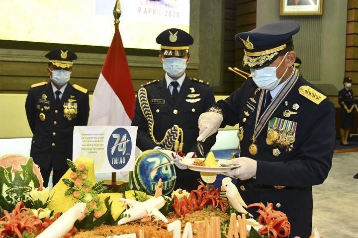 Peringatan HUT ke-74 TNI AU Ditengah Wabah Covid-19